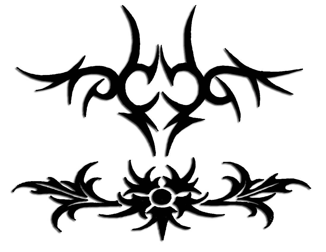 Desenhos-de-tatuagem-Tribal-para-costas