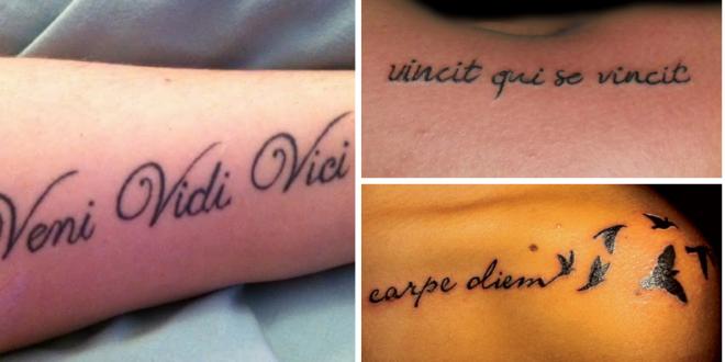 Frases em Latim para Tatuar