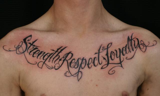 Letras para tatuagens