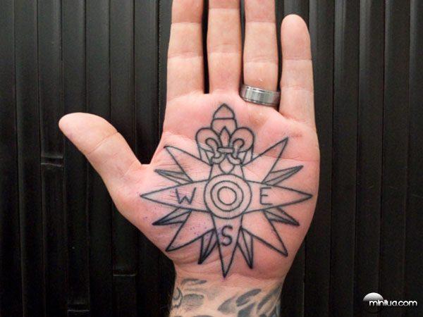 Palm-Tattoo