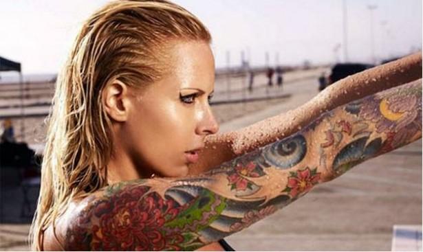 Tatuagem-Feminina-no-Braço-desenho