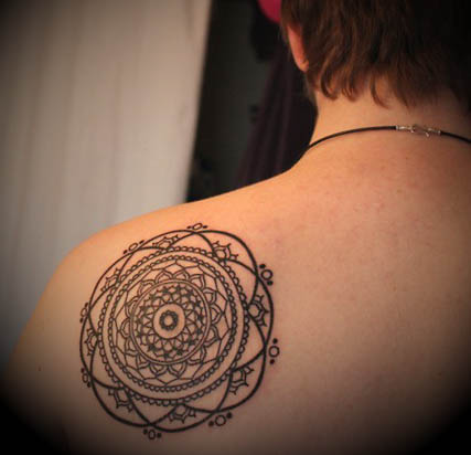 Tatuagem-Mandala