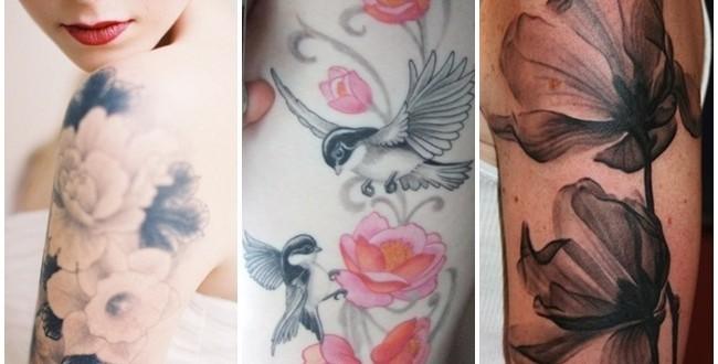 Tatuagem delicada no braço