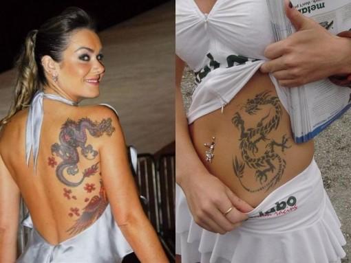 Tatuagem-dragoes