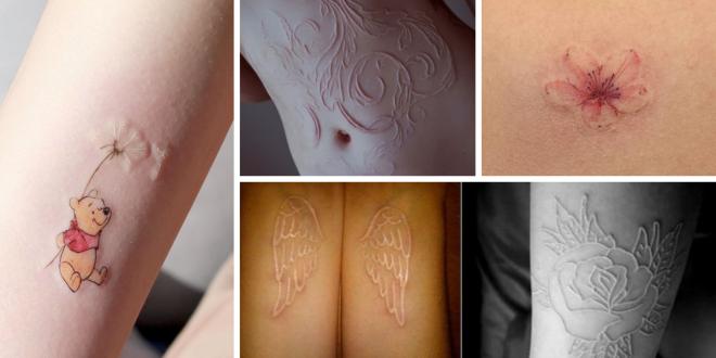 Tatuagem em Alto Relevo