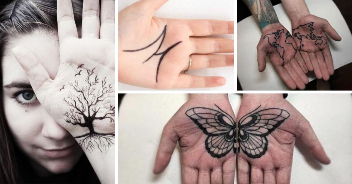 Tatuagem na Palma da Mão