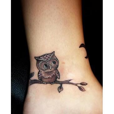 Tatuagens de Coruja - Dinho Tattoo