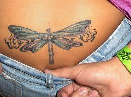Tatuagem no Cóccix