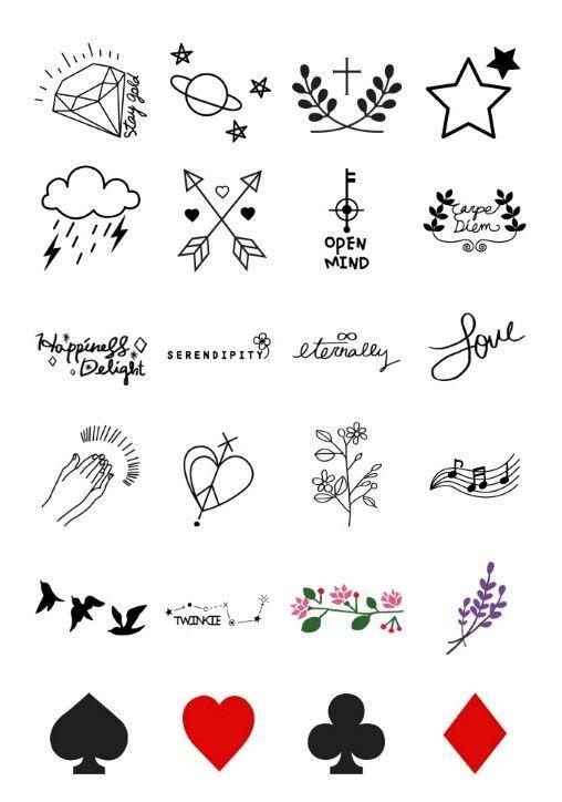 desenho tatuagem simples
