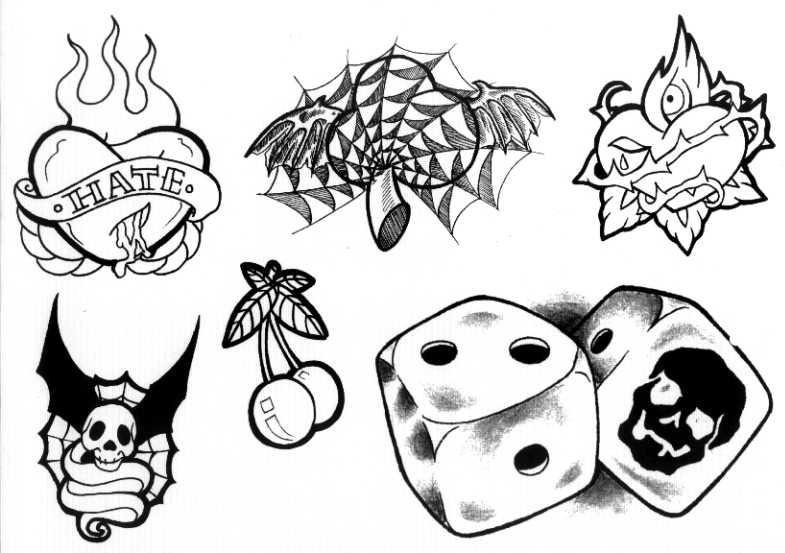 desenhos-de-tatuagens-para-colorir
