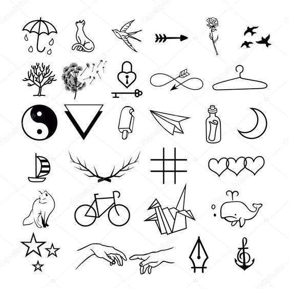 desenhos tatuagens pequenas