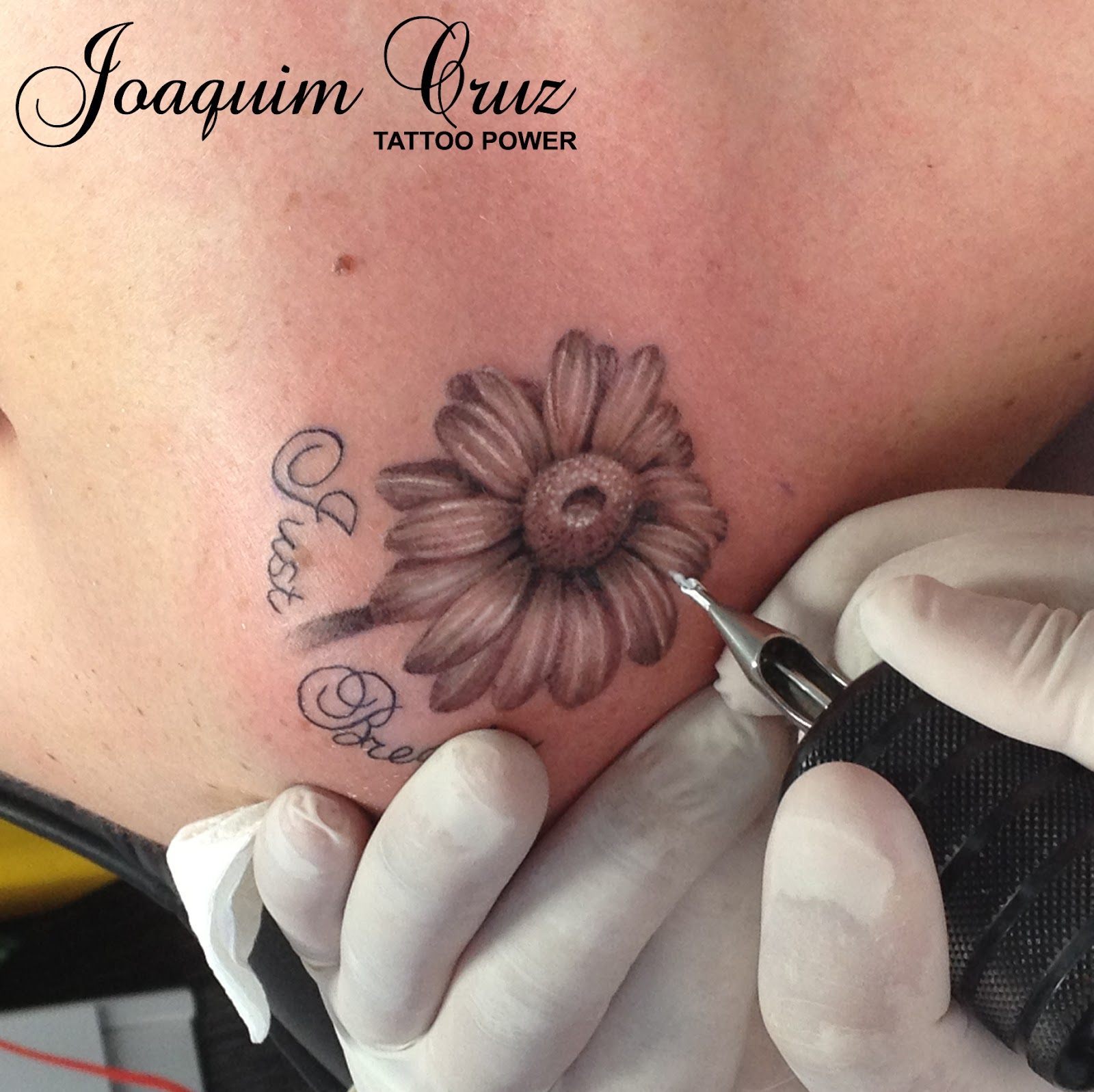flor margarida tattoo power