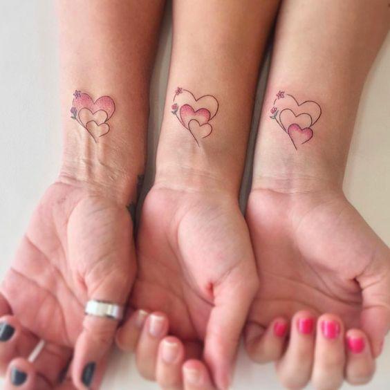 ideias tatuagens amigas