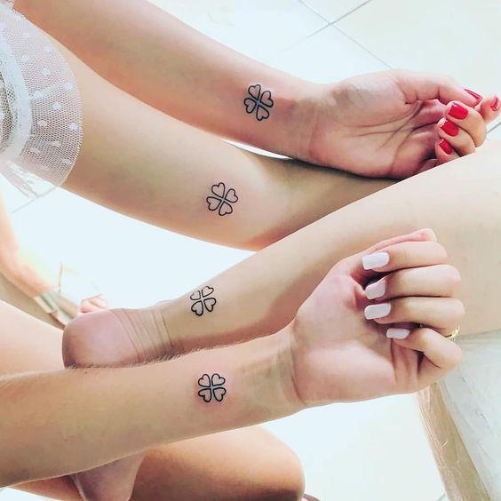 ideias tatuagens amizade