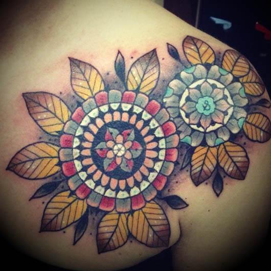 mandala tatuagem foto