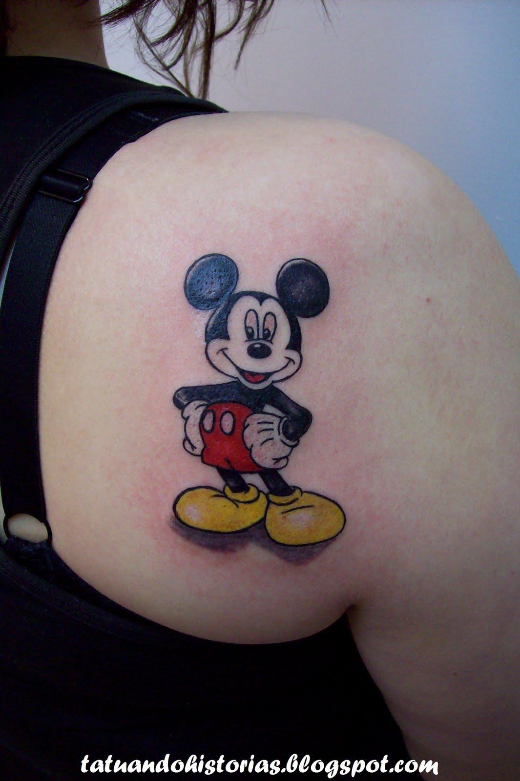 mickey-tattoo