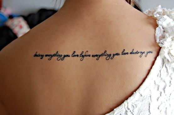 sugestoes de Frases para tatuagens