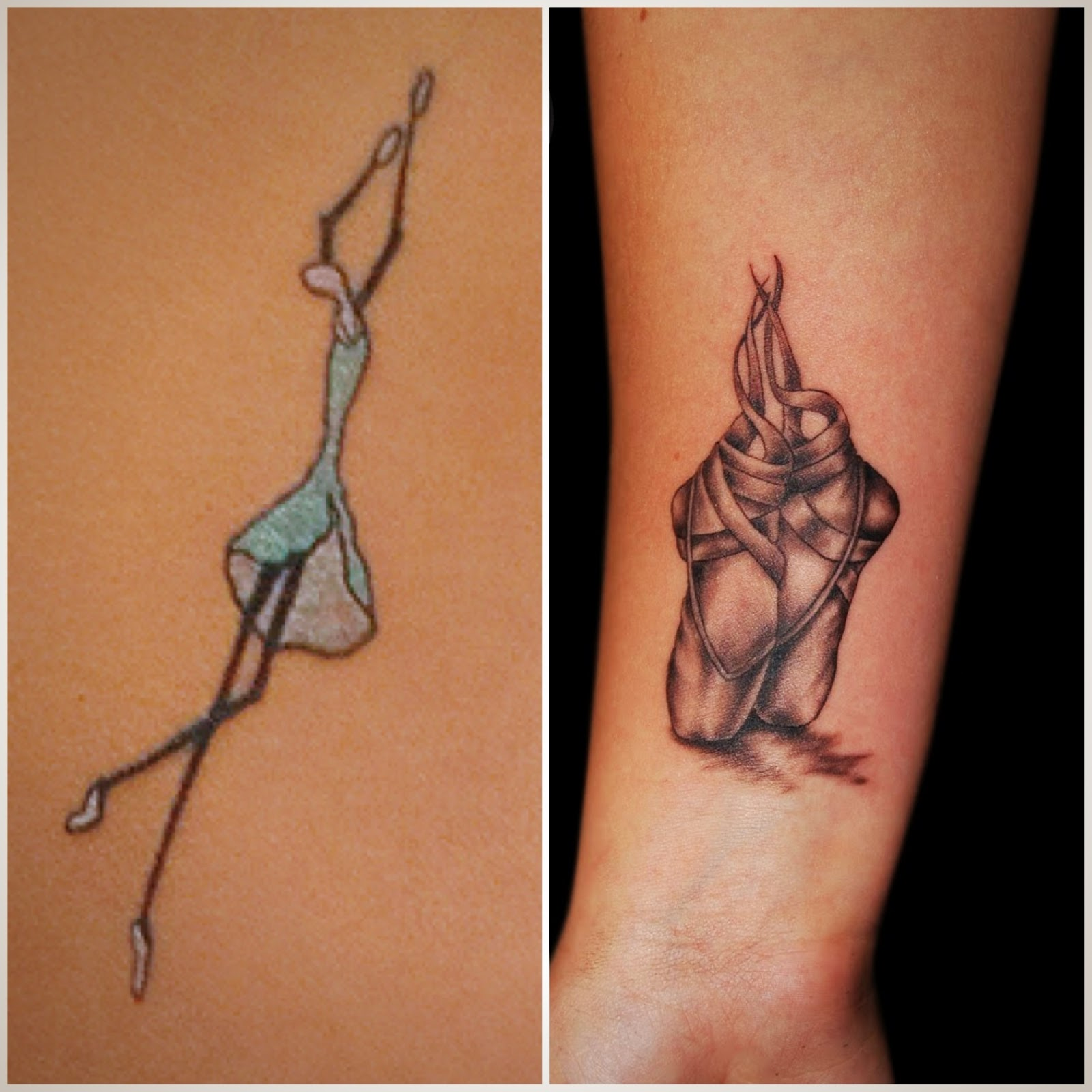 Tatuagens de Bailarina