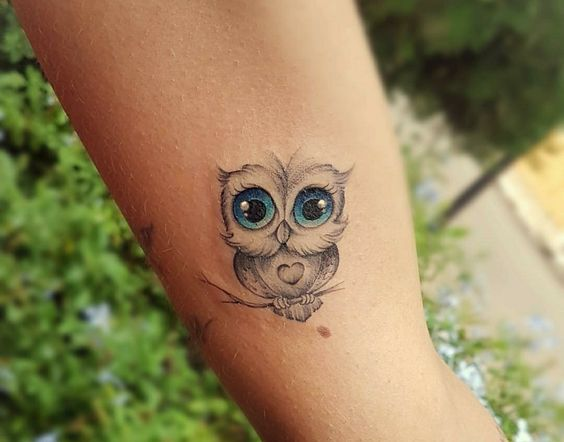 tatuagem coruja 1