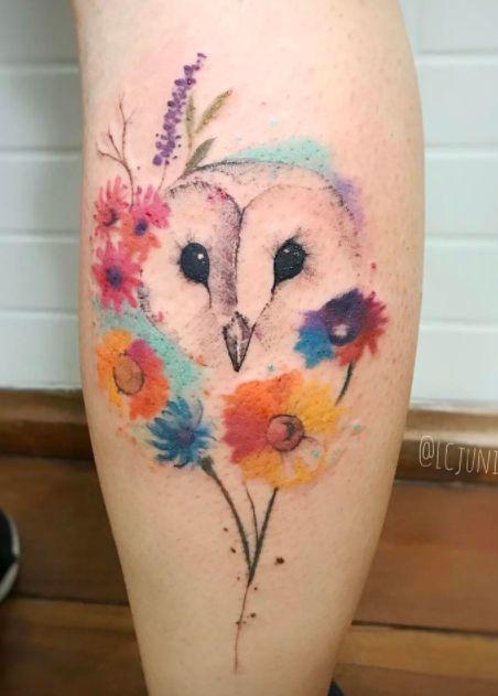 tatuagem coruja 13