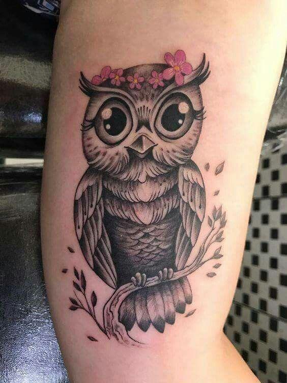 tatuagem coruja 2