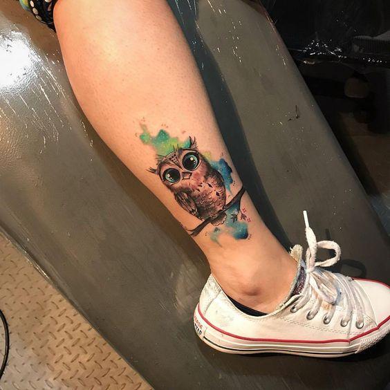 tatuagem coruja 5