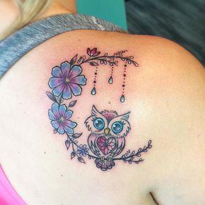 tatuagem coruja 7