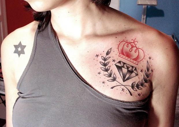 tatuagem-diamante-ombro