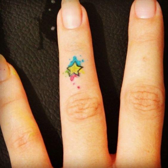 tatuagem estrela 9 1