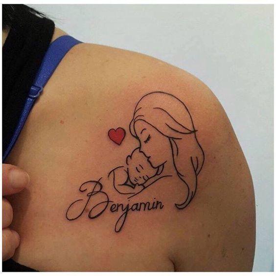 tatuagem homenagem filhos 3