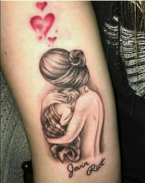 tatuagem homenagem filhos 6
