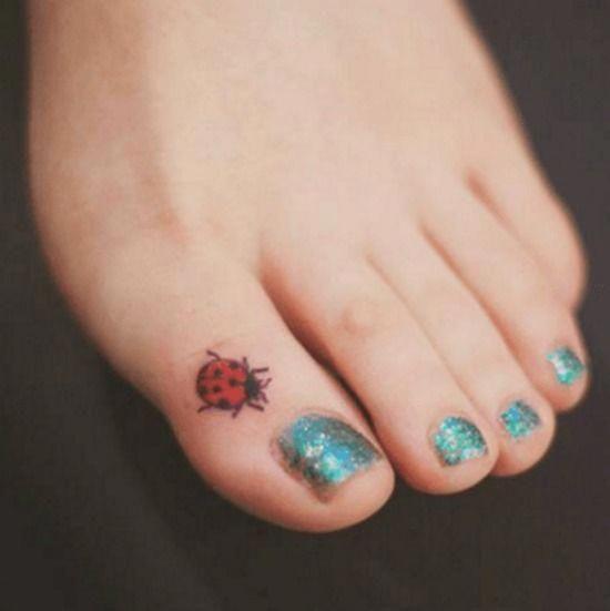 tatuagem joaninha 2