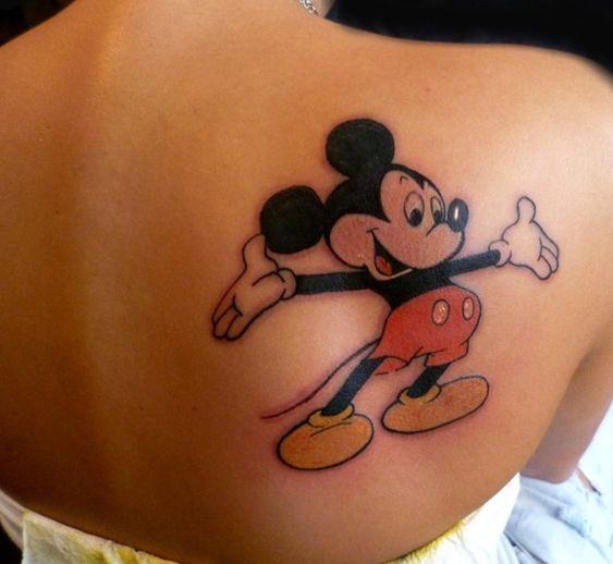 tatuagem mickey disney