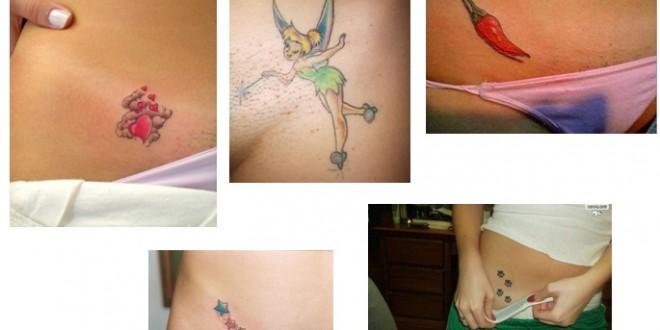 tatuagem na virilha