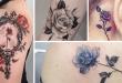 tatuagem rosa ideias significados