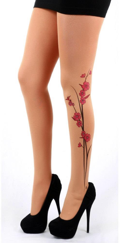 tatuagens-feminina-galhos-de-flores-na-perna