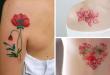 tatuagens flores