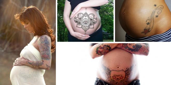 tatuagens gravidas