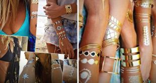 tatuagens que imitam joias