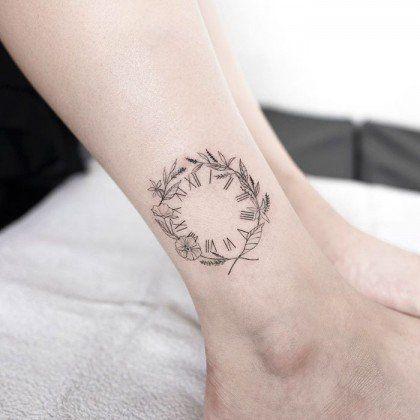 tatuagens relogios simples